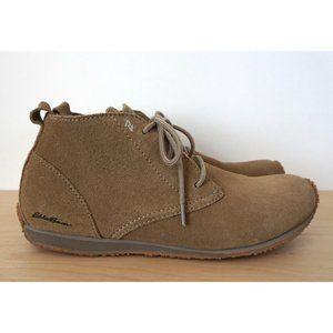 EDDIE BAUER Transition Tan Suede Chukka Boots